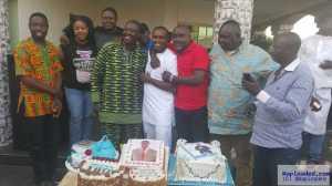 Actor Femi Adebayo Celebrates 43rd Birthday In His New House In Ibadan